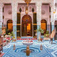 الرياض وبيوت الضيافة